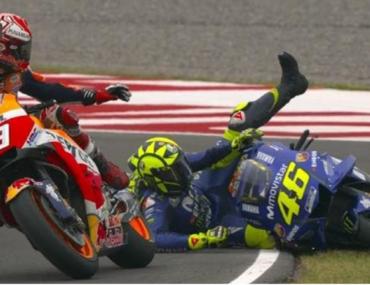 MotoGP: Marquez scandaloso