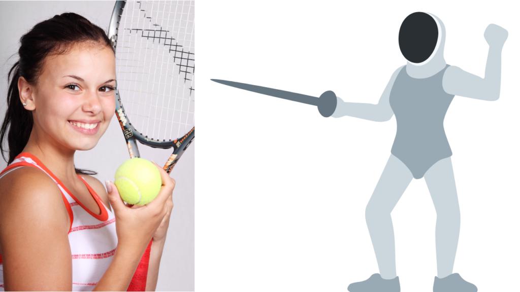 tennis e scherma