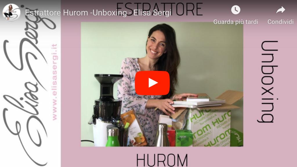 Unboxing Estrattore Elisa Sergi