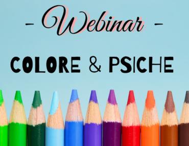 WEBINAR – Colore & Psiche – 21 novembre – ore 10-13